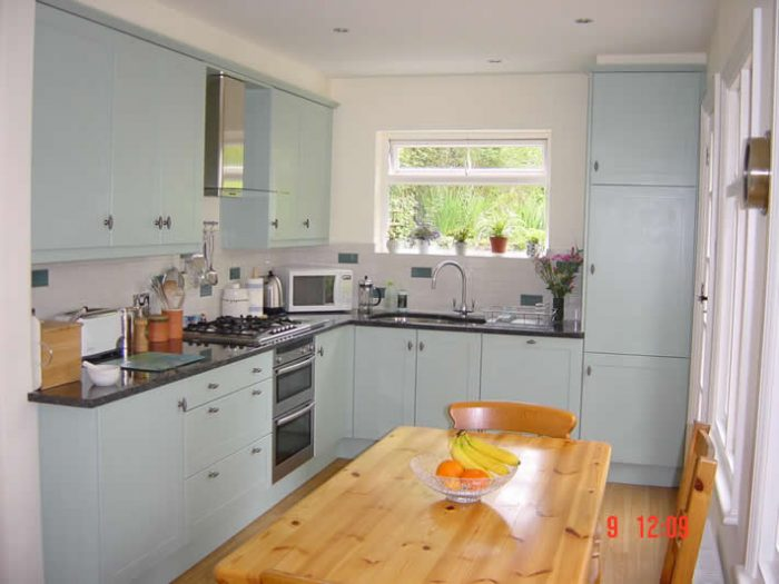 Hand painted kitchen, Chesham