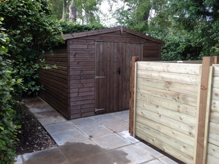 Hard Landscaping & Compost Bays, Great Missenden
